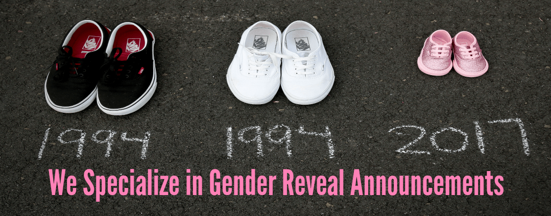 Gender Reveal Announcement