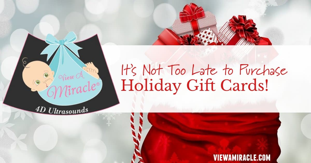 It's Not Too Late to Purchase Holiday Gift Cards!